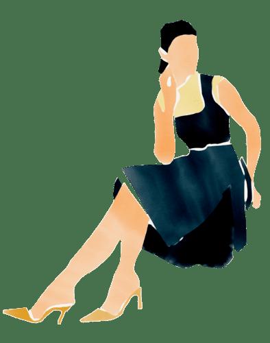 Illustration Dreisiebner Muster Sauvignon Blanc